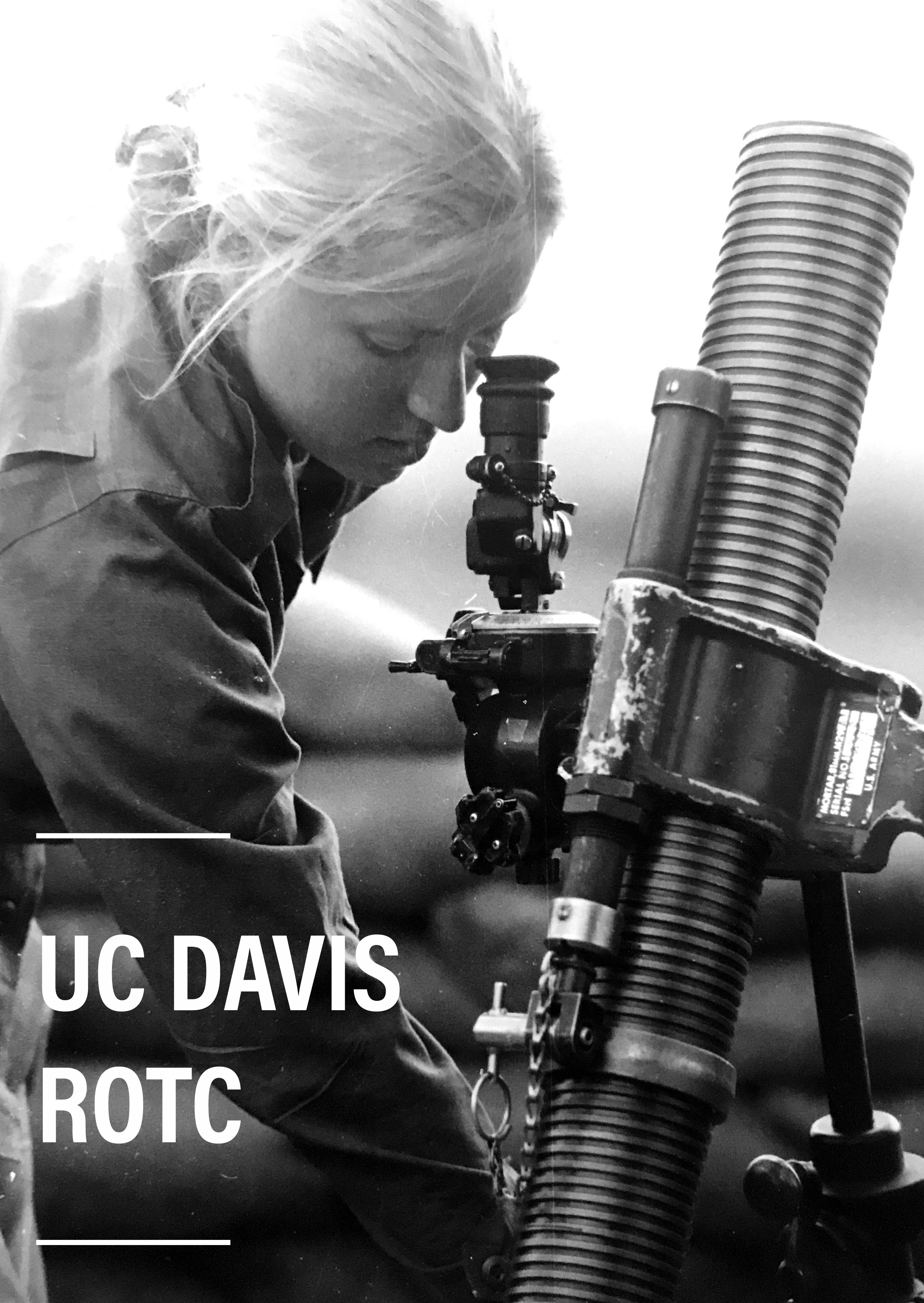 Historical Photo of UC Davis Cadet