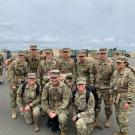 Cadets at the Gold Star Ruck March