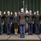 UC Davis and CSUS Cadets administered the Oath of Office